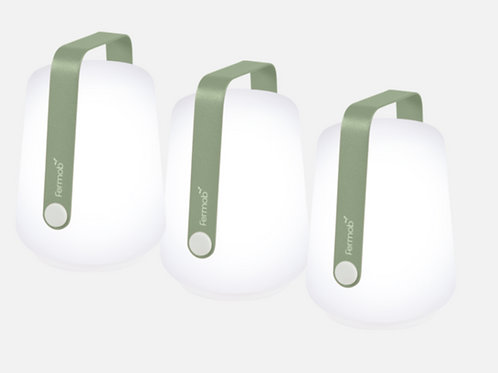 LOT DE 3 LAMPES H.12 CM BALAD - FERMOB