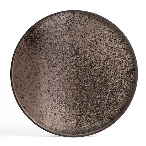 Plateau miroir en bronze - Ethnicraft