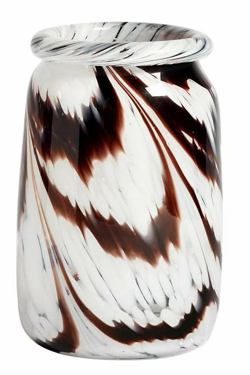 Vase Splash / ROLL NECK L CAFÉ ET BLANC - HAY