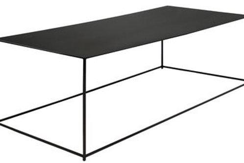 Table Basse Acier Noir - Slim Irony