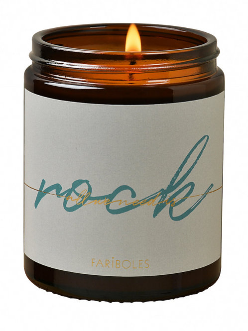 BOUGIE ALL WE NEED IS ROCK MUSC DES NEIGES 140G - FARIBOLES