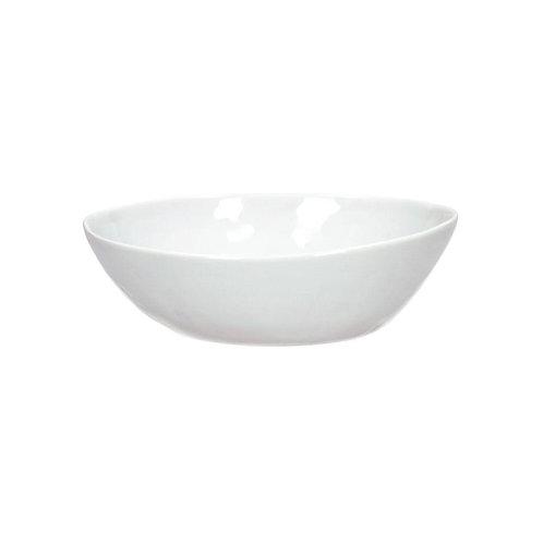 Assiette creuse Porcelino - Blanc 21cm