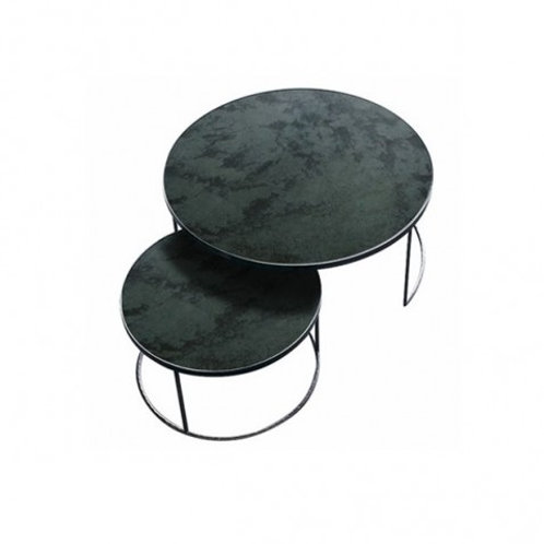 Set de Tables Basses Round Nesting Coffe - Ethnicraft