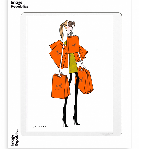 SAC ORANGE - Collection : Soledad / Image Republic
