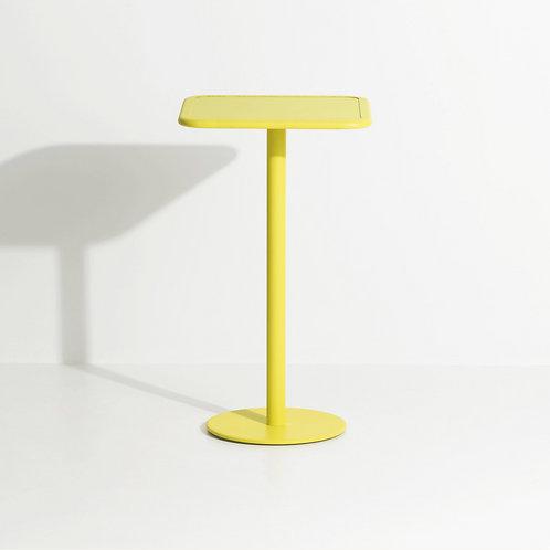 WEEK END / Table haute carrée - PETITE FRITURE (Studio Brichet-Ziegler)