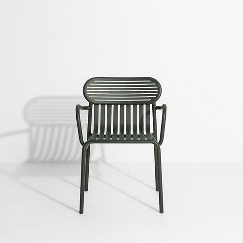 WEEK END / chaise de jardin accoudoir - PETITE FRITURE (Studio Brichet-Ziegler)