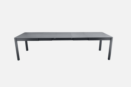 RIBAMBELLE XL TABLE 299X100 3A - CARBONE - FERMOB