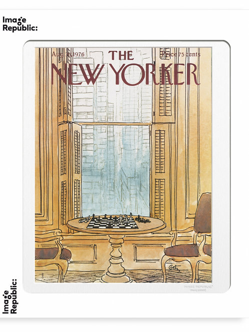119 - ARTHUR GETZ - CHESS  Collection : The New Yorker / Image Republic