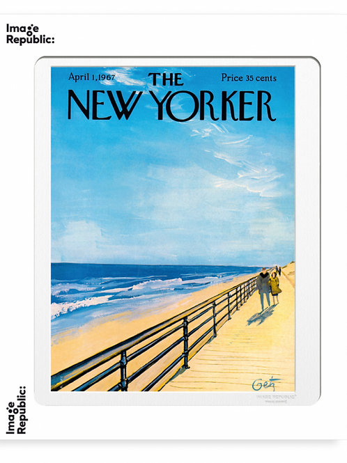 32 - ARTHUR GETZ - PLAGE - The New Yorker/Image Republic