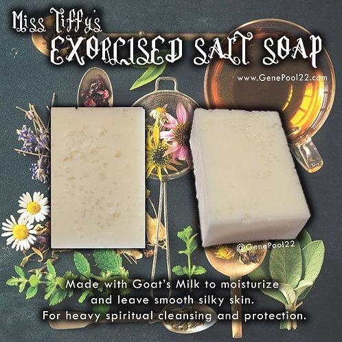 Exorcised Sea Salt Soap
