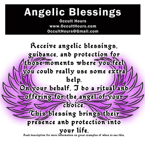 Angelic Blessing Rite