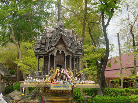 Thai Spirit Houses - San Phra Phum