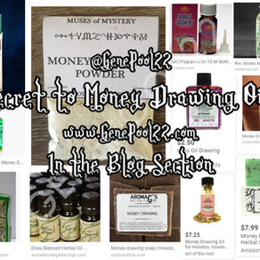 "The Secret Behind ""Money Draw"" Oils"