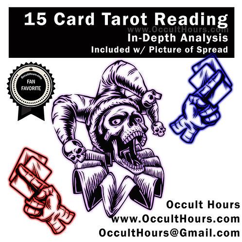 15 Card Tarot Analysis