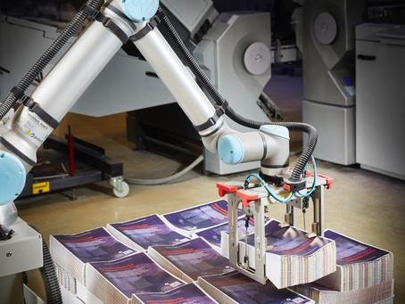 Tuijtel automatiseert met MBO CoBo-Stack stapel-robot