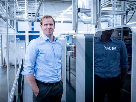 Koenig & Bauer Rapida 106 X met volautomatisch drukplaten-logistiek systeem in gebruik genomen