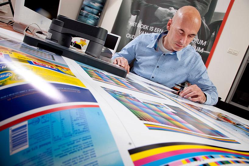 Colour management apparatuur