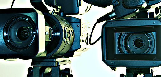 Sony HXR-NX5Us and FS700 cameras at The Zoo Studios.