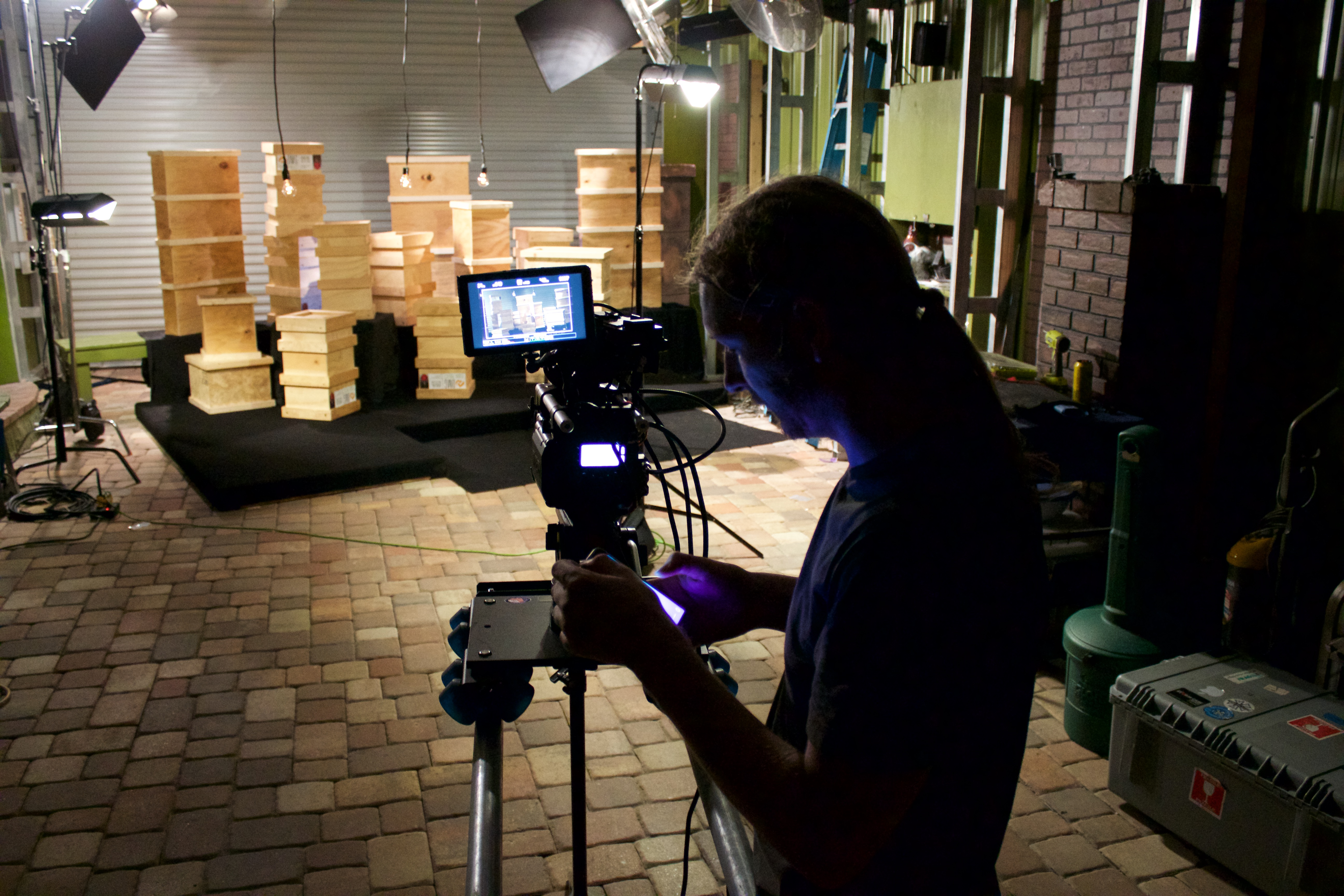 DP Bruce Murra - RED on Dana Dolly