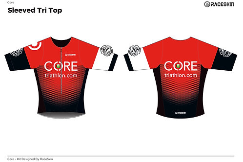 COREtriathlon Tri top (Sleeved)