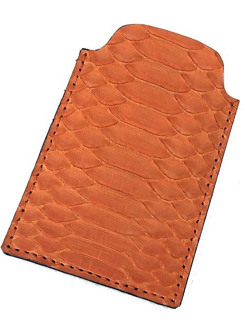 Orange Credit Card Holder