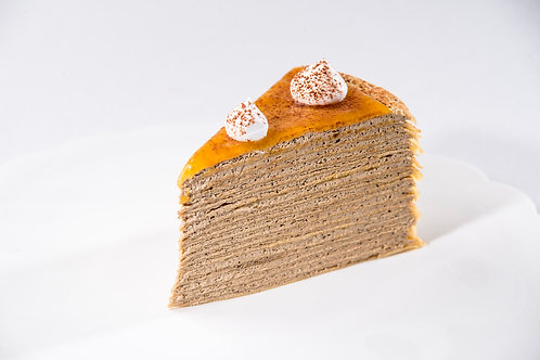 Caramel Coffee Mille Crepe
