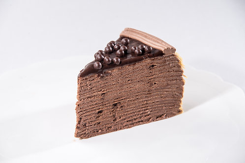 Crunchy Choco Mille Crepe