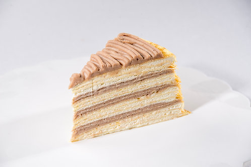 French Chestnut Mille Crepe