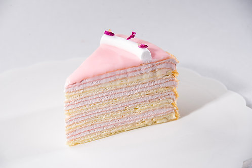 Rose Mille Crepe