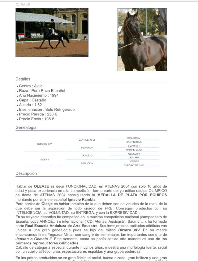 Oleaje (Yeguada Militar)