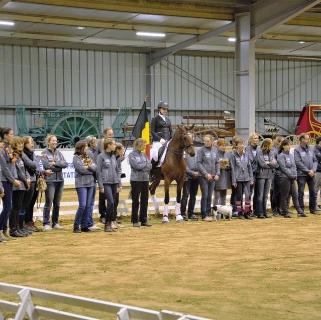 Une belle équipe belge