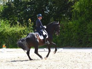 Hernesto HN & Caroline Ulrici engagés au Flanders Dressage Event
