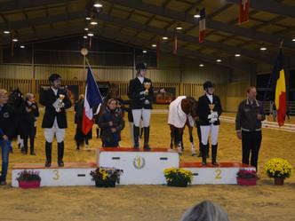 Finale Européenne MCI: Hernesto de Niaster Médaille de Bronze dans les Jeunes Chevaux