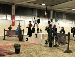 Finale Européenne MCI à Turin - Hernesto HN Champion d'Europe 2016 niveau 2