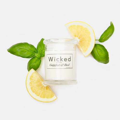 Grapefruit & Basil | Large Candle