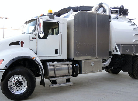 A Powerful Hydrovac for Tight Quarters