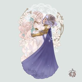 Mermaid & Princess