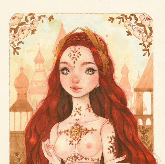 Enchanted Firebird