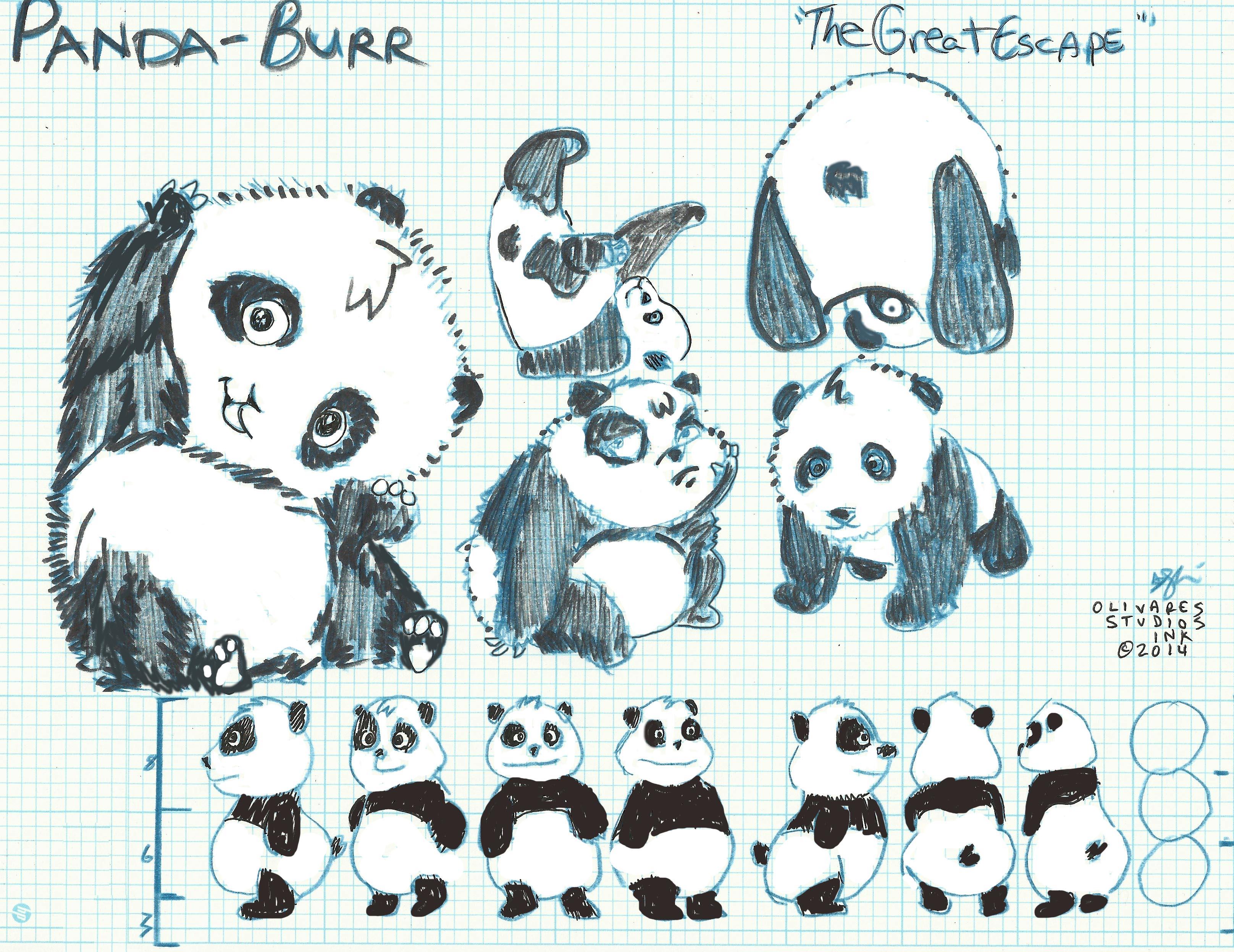 Panda Burr