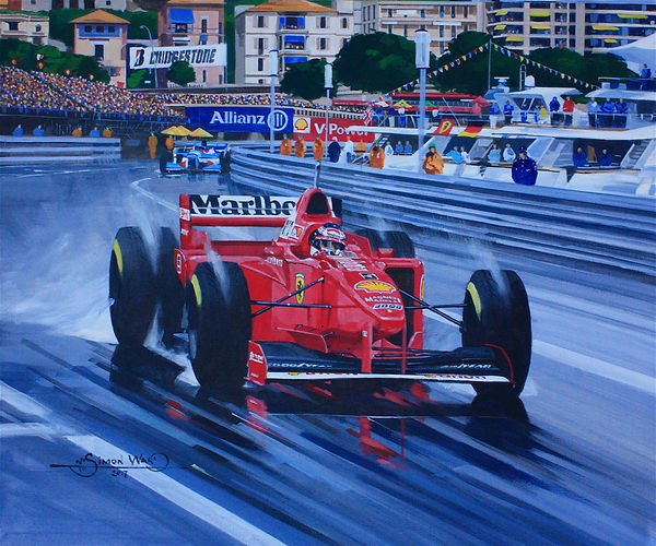 Michael+Schumacher+++Ferrari+310B++Monac