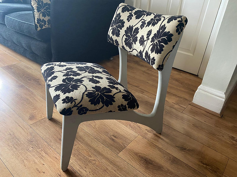 Z Chair re-upholstered