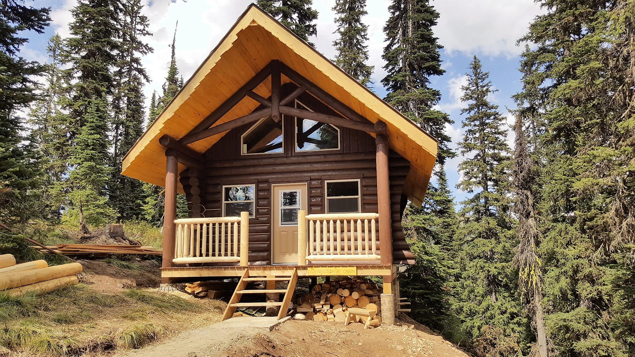 L.S. Cabin almost complete