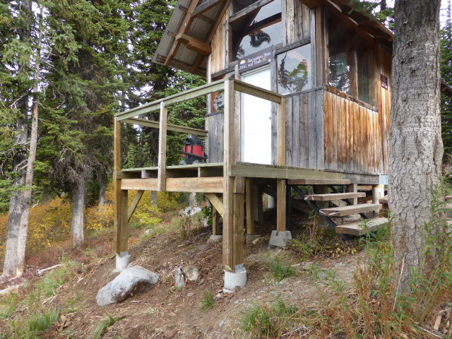 Ripple Ridge Cabin in summer