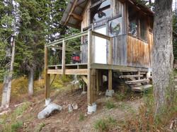 Ripple Ridge Cabin in summer