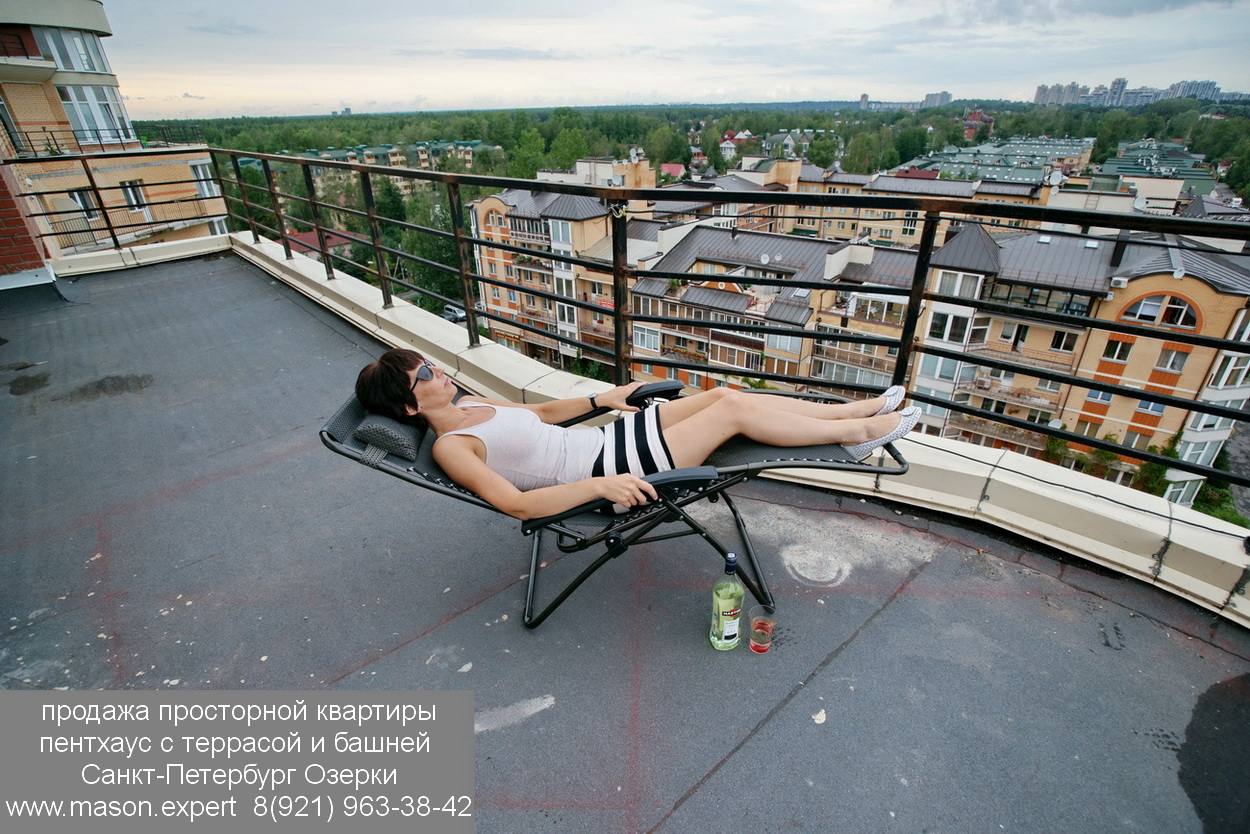 1 продажа квартиры с террасой пентхаус Озерки СПб DSC03152 500