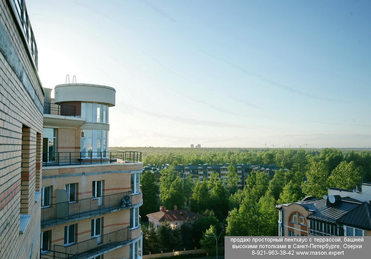 продается квартира пентхаус с террасой и башней в СПб 89219633842 DSC04707 мт