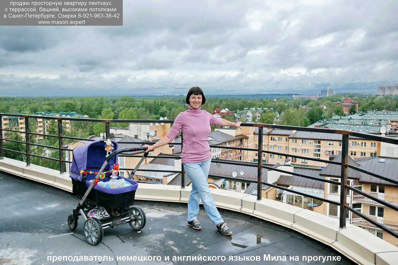 продажа элитной квартиры пентхаус терраса новостройка СПб DSC08113