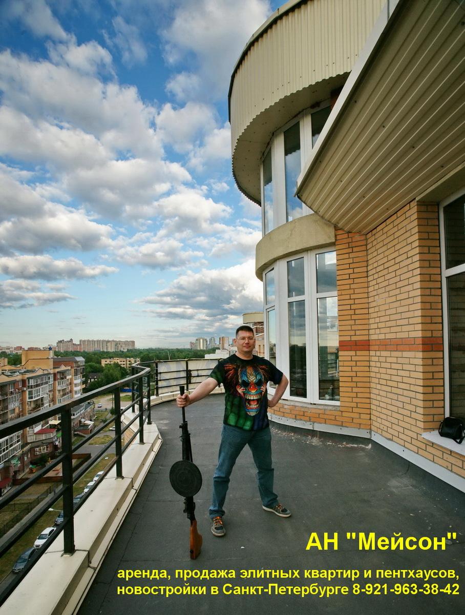 1 продажа квартиры с террасой и башней в СПб Озерки 89219633842 DSC05430 500