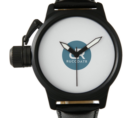 Crown Protector Black Leather Strap Watch 1.PNG