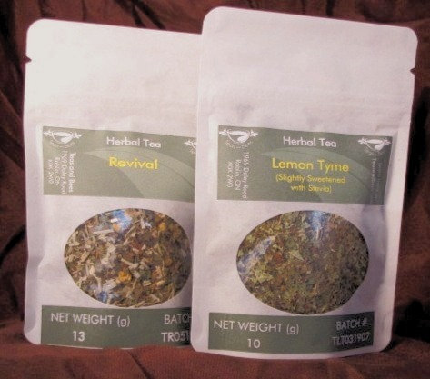 Lemony Herbs Tea Collection
